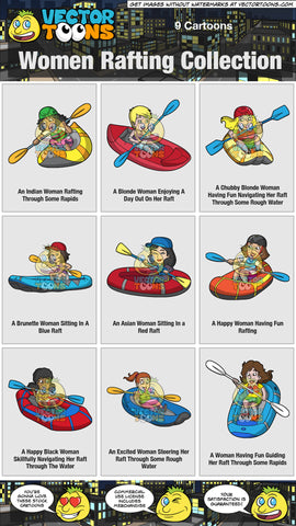 Women Rafting Collection