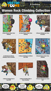 Women Rock Climbing Collection