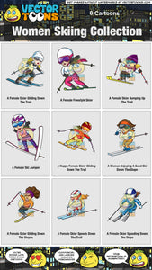 Women Skiing Collection