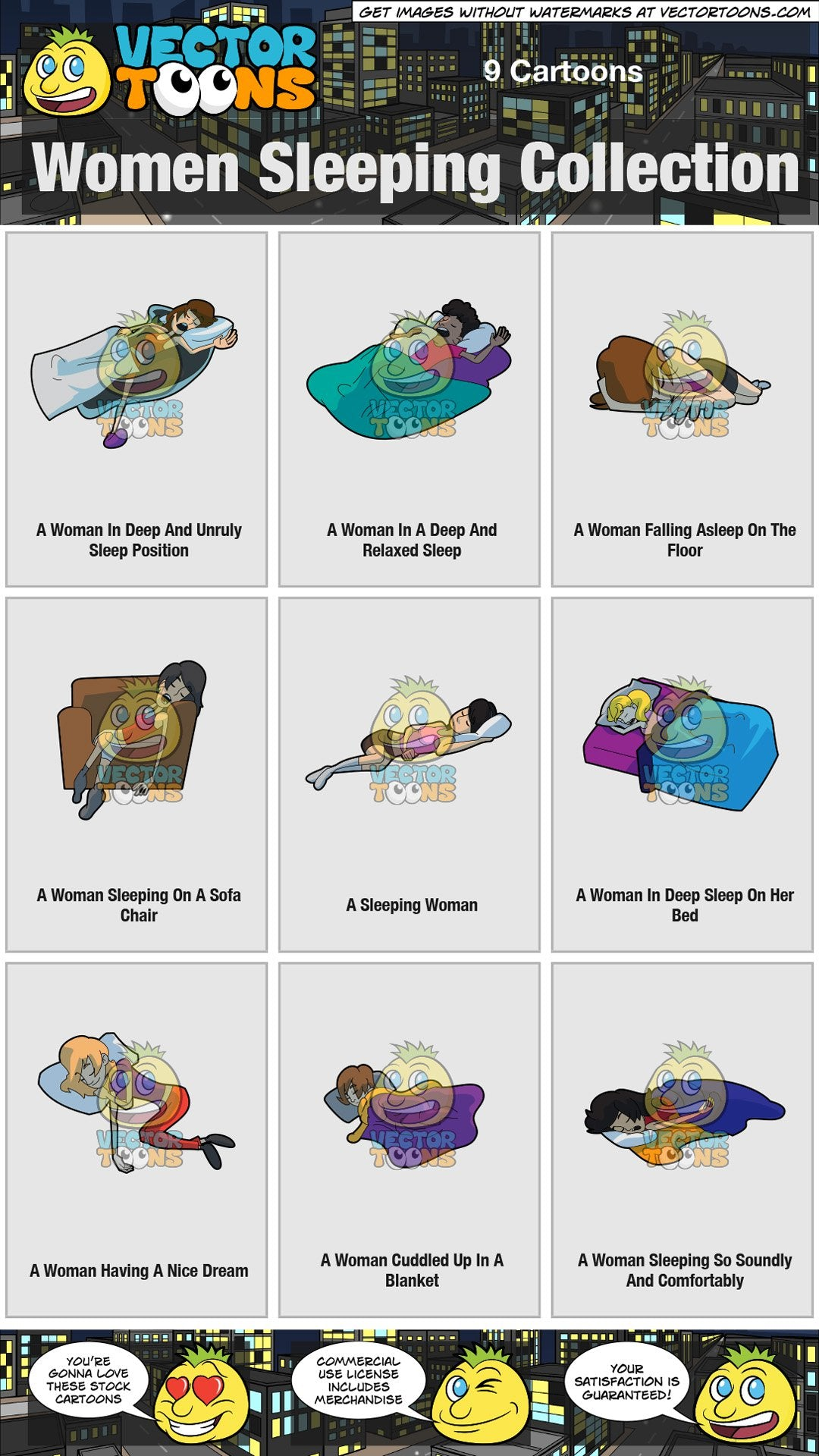 Women Sleeping Collection