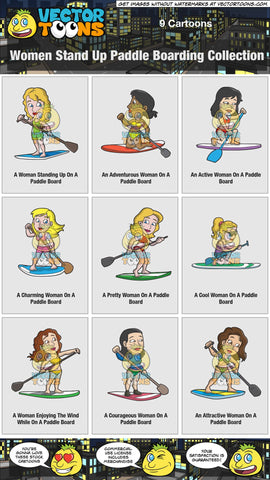 Women Stand Up Paddle Boarding Collection