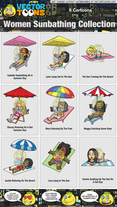 Women Sunbathing Collection