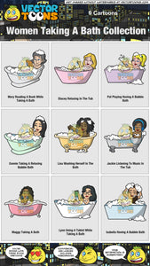 Women Taking A Bath Collection