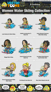 Women Water Skiing Collection