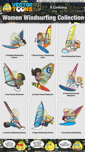 Women Windsurfing Collection
