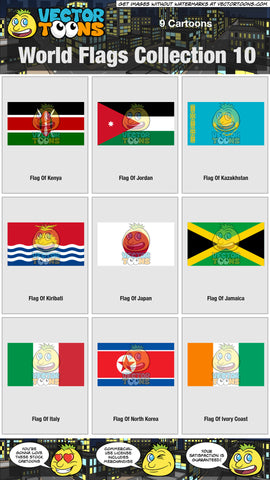 World Flags Collection 10