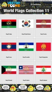 World Flags Collection 11