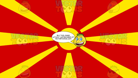 Flag Of Macedonia