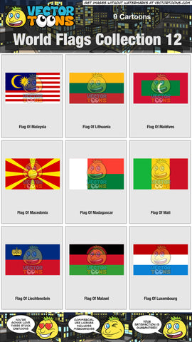 World Flags Collection 12