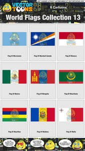 World Flags Collection 13