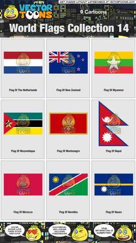 World Flags Collection 14