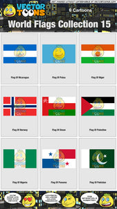 World Flags Collection 15