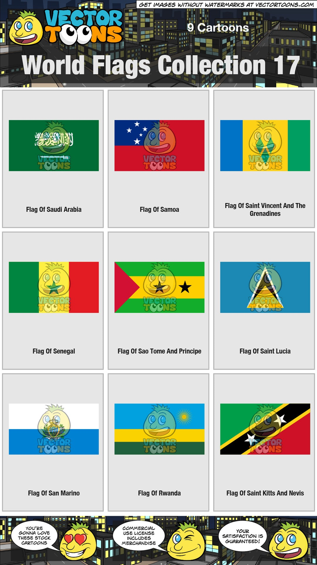 World Flags Collection 17