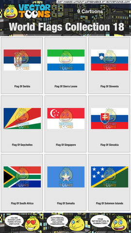 World Flags Collection 18