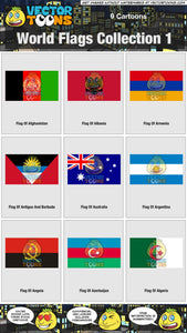 World Flags Collection 1