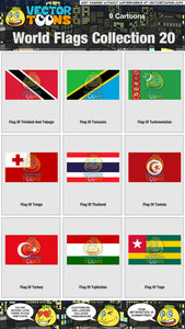 World Flags Collection 20
