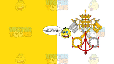Flag Of The Vatican City State