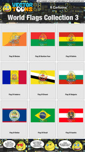 World Flags Collection 3