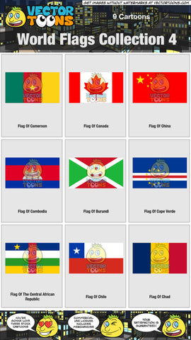 World Flags Collection 4