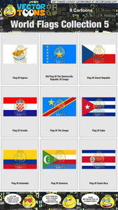 World Flags Collection 5
