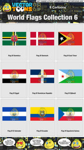World Flags Collection 6