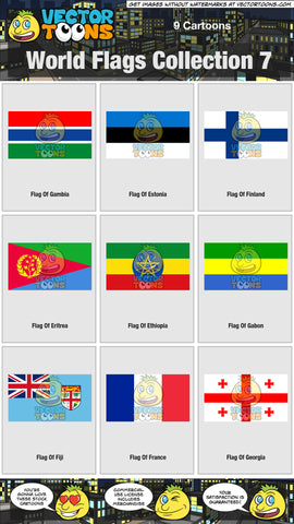 World Flags Collection 7