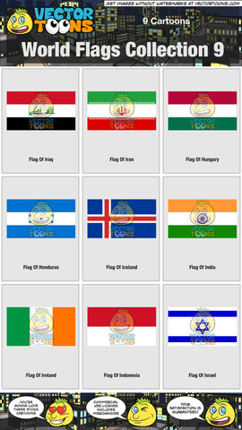 World Flags Collection 9