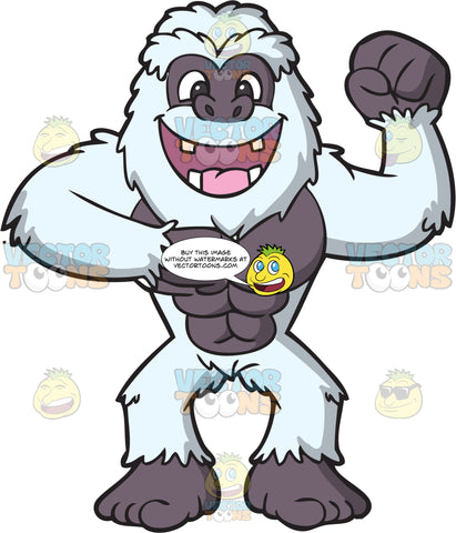 An Excited Strong Yeti