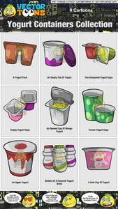 Yogurt Containers Collection