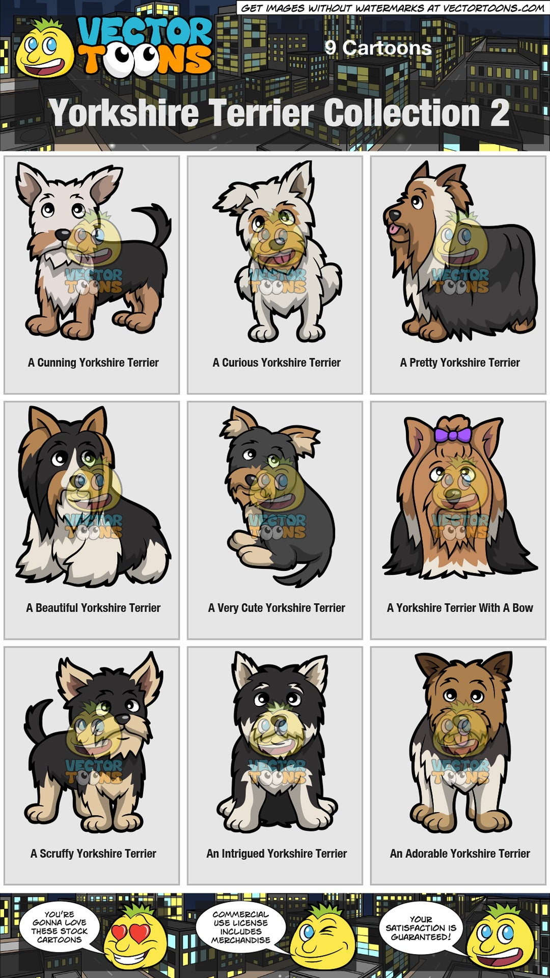Yorkshire Terrier Collection 2