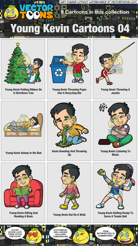 Young Kevin Cartoons Collection 04