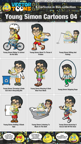 Young Simon Cartoons Collection 04