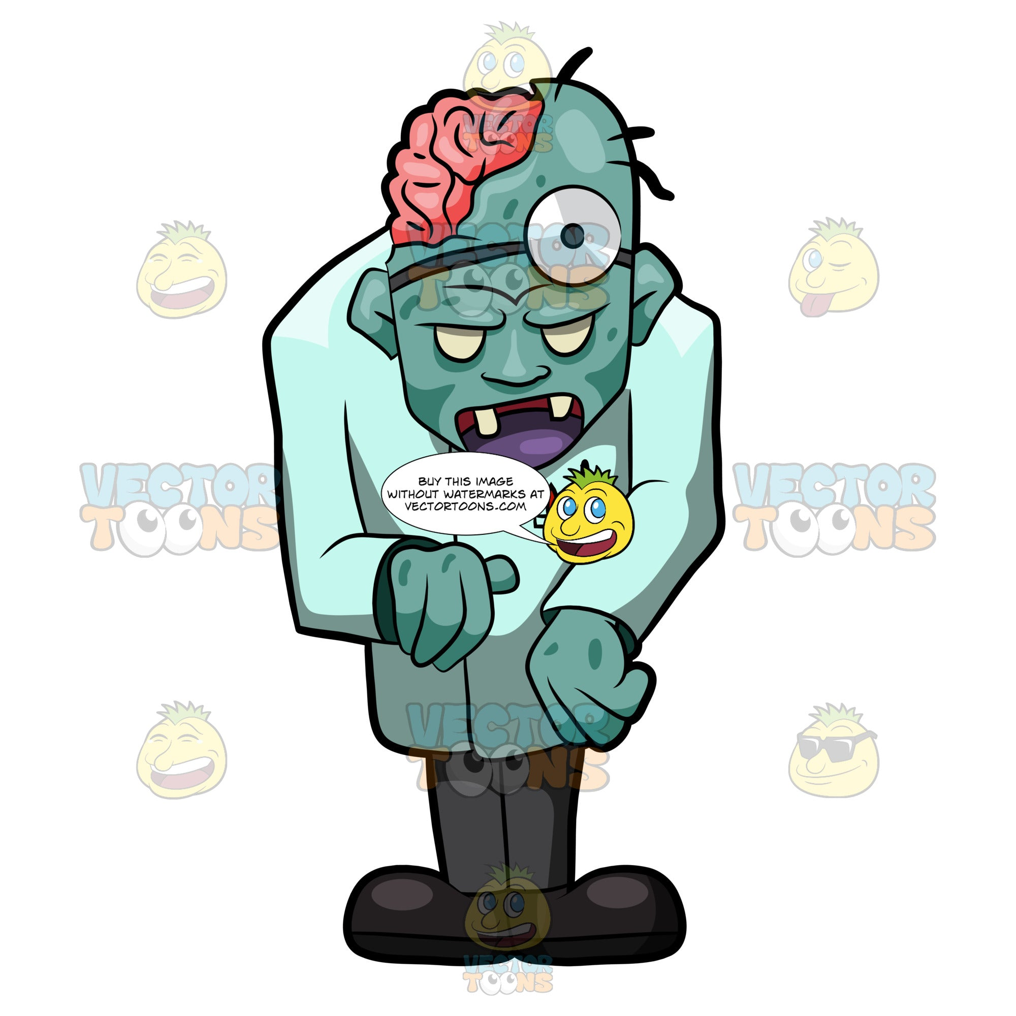 A Creepy Zombie Doctor