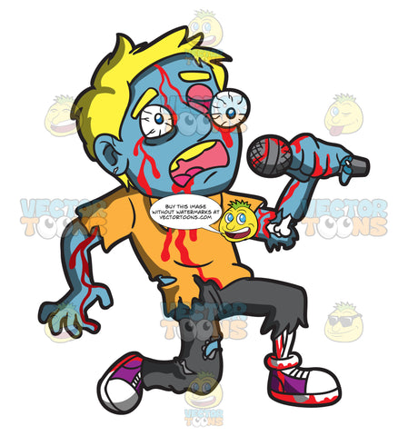 A Singing Zombie