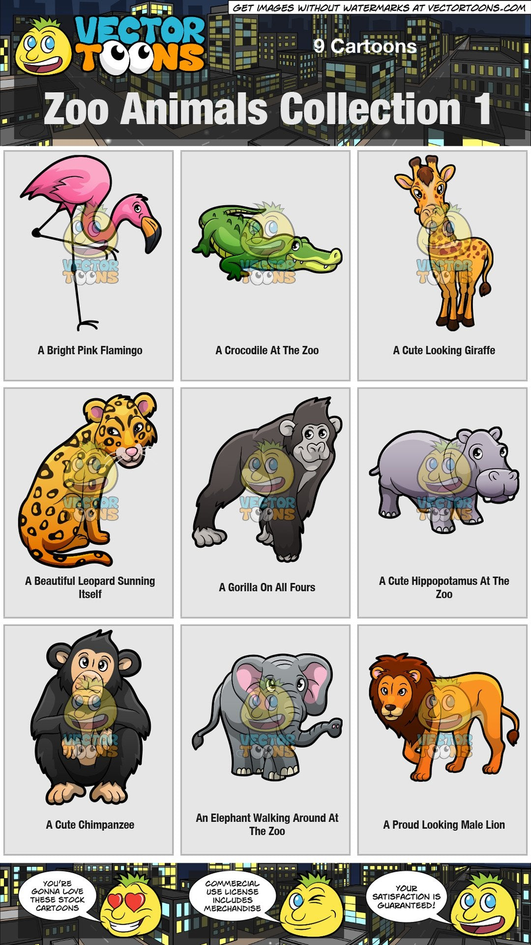 Zoo Animals Collection 1