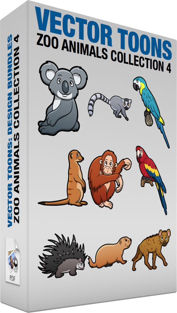 Zoo Animals Collection 4