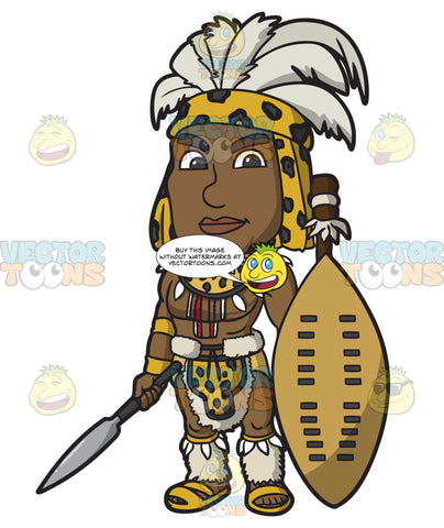 A Chief Zulu Warrior