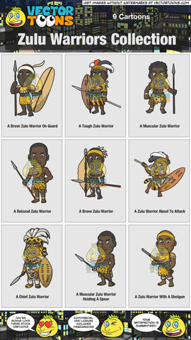 Zulu Warriors Collection
