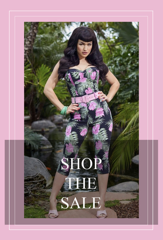 Sale Items Pinup Girl Clothing Vintage Style Clothing