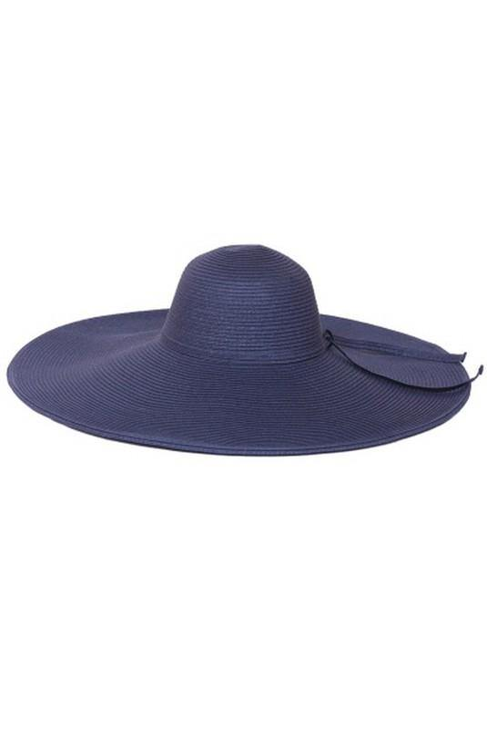 Shaded and Chic Vintage Inspired Hat in Navy