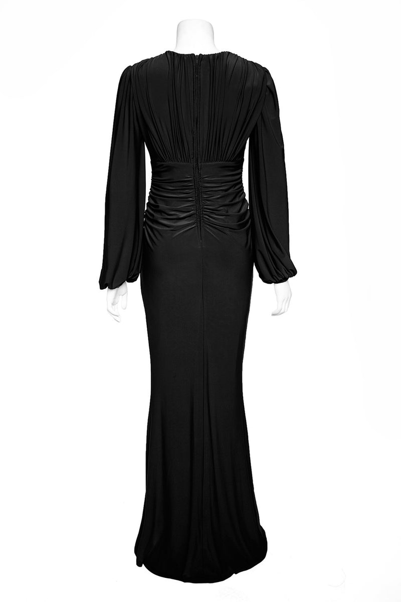 Laura Byrnes California Gia Gown in Black