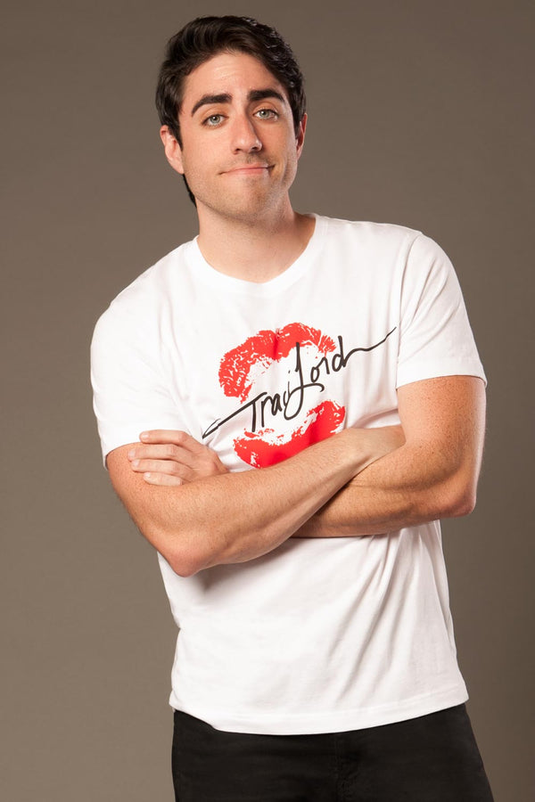 Men's Signature T-shirt in White by Traci Lords
