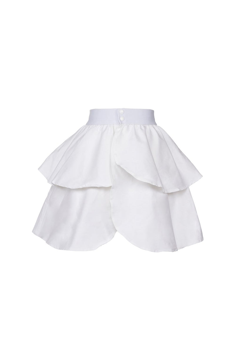 Laura Byrnes California Twill Underskirt in White