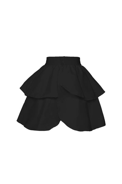 Laura Byrnes California Twill Underskirt in Black