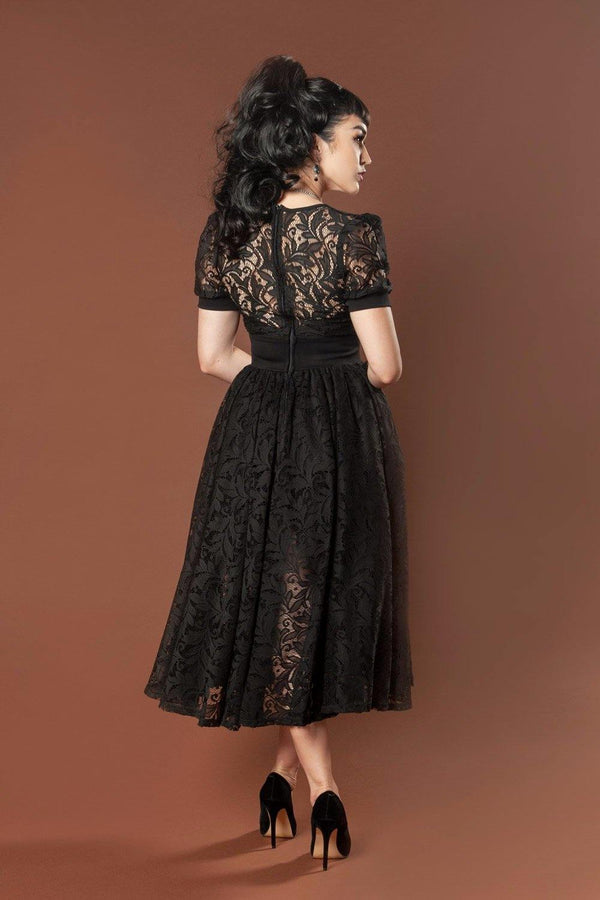 Pinup Couture Hedy Dress in Bisou Lace