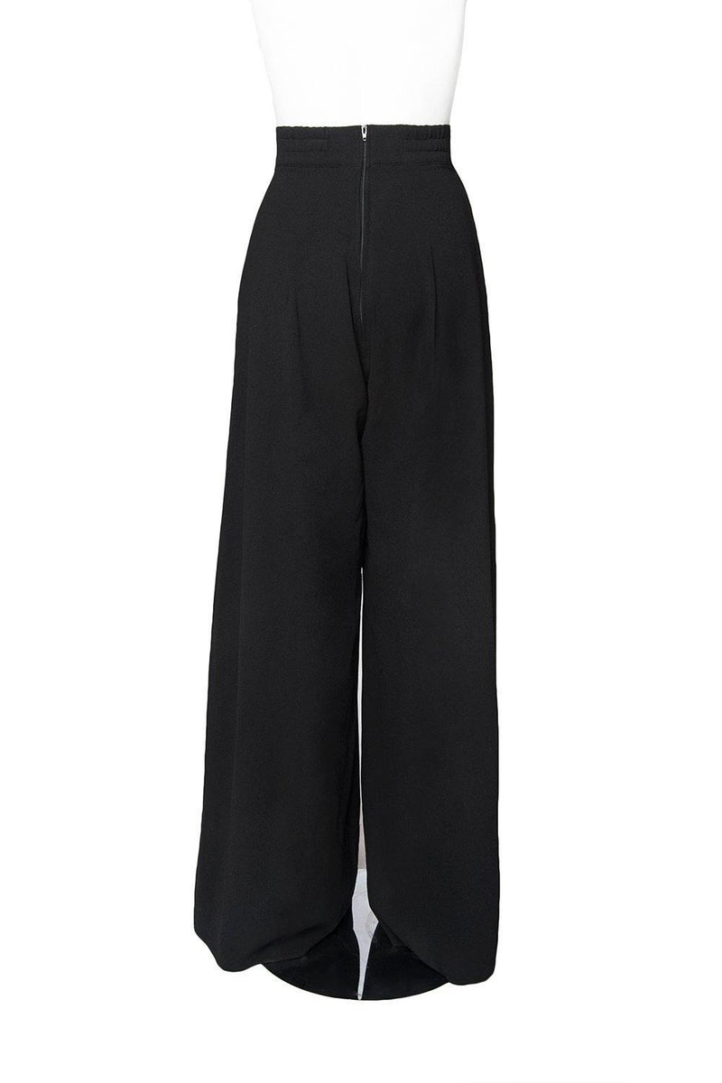 "Laura Byrnes California Doris Pants in Black with 34"" Inseam"