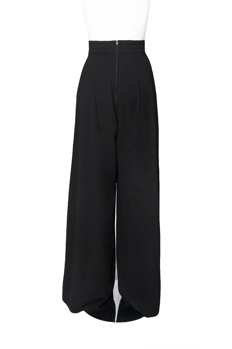 "Laura Byrnes California Doris Pants in Black with 30"" Inseam"