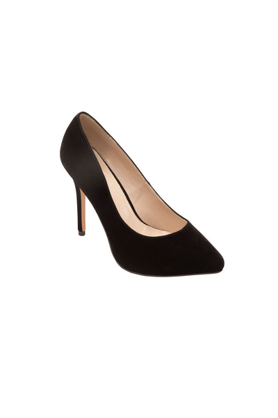 Amuse Me Hidden Platform Pump Heel In Velvet