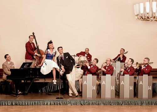Andrej Hermlin and his Swing Dance Band bei The Orange Room - Samstag, 16. Mai 2020