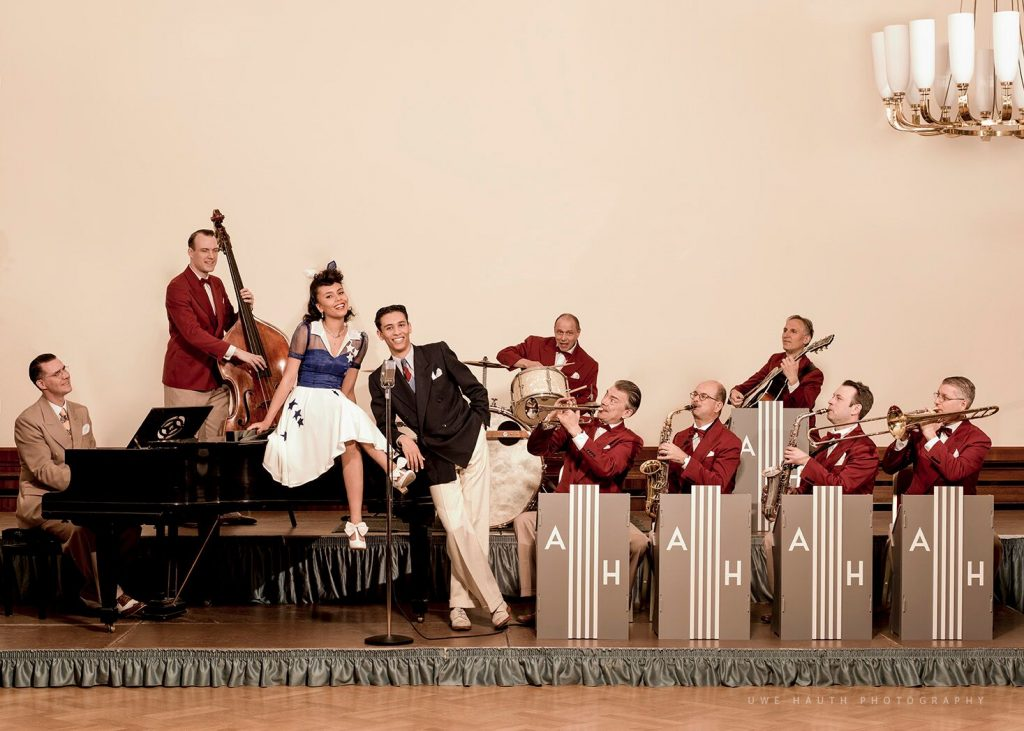 Andrej Hermlin and his Swing Dance Band bei The Orange Room - Samstag, 5. September 2020